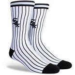 Men's Chicago White Sox Split Crew Socks