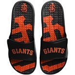 Men's FOCO San Francisco Giants Wordmark Gel Slide Sandals