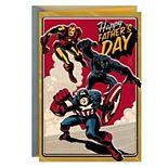 Hallmark Marvel Comics Avengers Father's Day Greeting Card