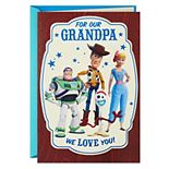 """Hallmark Disney / Pixar Toy Story """"So Much Heart"""" Father's Day Greeting Card from Grandkids"""