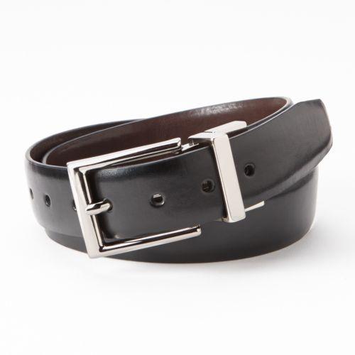 Chaps Reversible Leather Belt