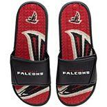 Men's FOCO Atlanta Falcons Wordmark Gel Slide Sandals