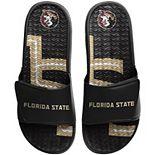 Men's FOCO Florida State Seminoles Wordmark Gel Slide Sandals