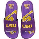 Men's FOCO LSU Tigers Wordmark Gel Slide Sandals