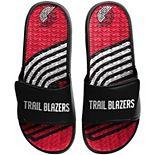 Men's FOCO Portland Trail Blazers Wordmark Gel Slide Sandals