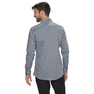 Men's Apt.9® Premier Flex Slim-Fit Spread-Collar Dress Shirt