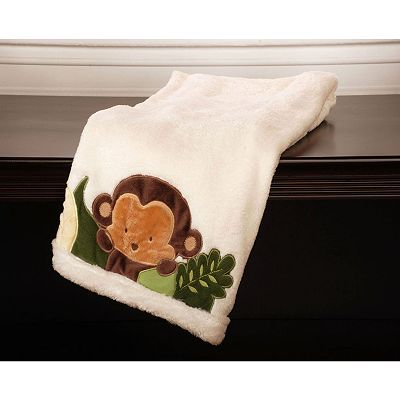Kids Line Jungle 1, 2, 3 Boa Blanket