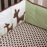 Kids Line Willow Organic Cotton Fitted Crib Sheet