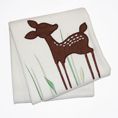 Kids Line Willow Organic Cotton Blanket