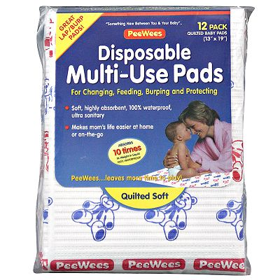 Continental Quilting 12-pk. Disposable Multiuse Pads