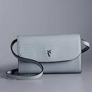 Simply Vera Vera Wang Signature Envelope Crossbody Bag
