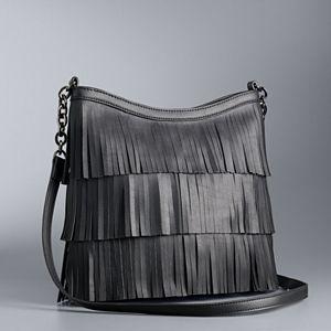Simply Vera Vera Wang Fringe Crossbody Bag