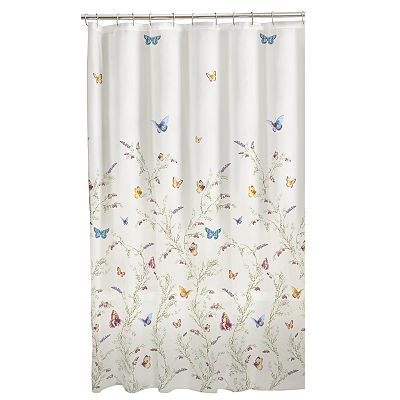 Home Classics Garden Flight Vinyl Shower Curtain