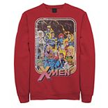 Men's Marvel X-Men Classic Vintage Comic Group Shot Sweatshirt