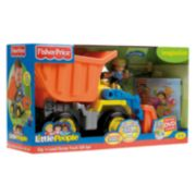 Fisher-Price Little People Dig 'n Load Dump Truck Special Edition Gift Set