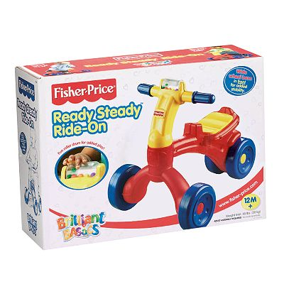 Fisher-Price Brilliant Basics Ready Steady Rider