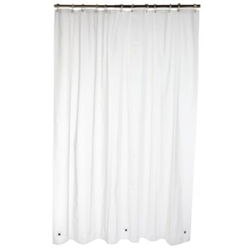 Home Classics® PEVA Super-Soft Stall Shower Curtain Liner