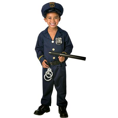Jr. Policeman Costume