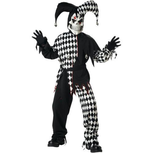 Evil Jester Costume - Kids