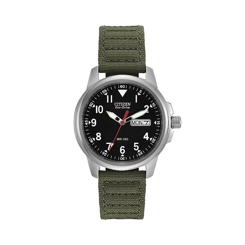 2014 citizen eco drive mens black dial silver tone bracelet watch