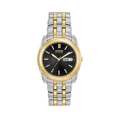 Citizen Eco-Drive Stainless Steel Two-Tone Watch - Men