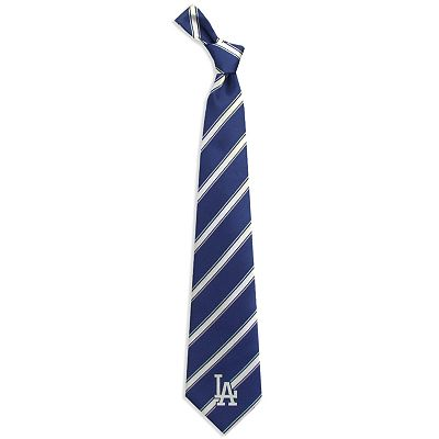 Los Angeles Dodgers Striped Tie