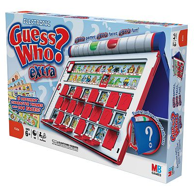 Milton Bradley Guess Who Extra Game