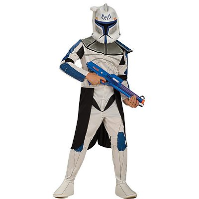Star Wars Clone Trooper Leader Rex Costume - Kids