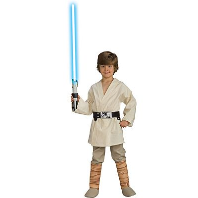 Star Wars Deluxe Luke Skywalker Costume - Kids