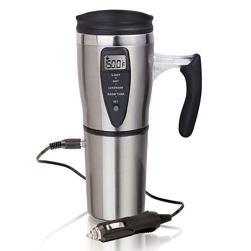 National JLR Gear Stainless Steel Smart Travel Mug