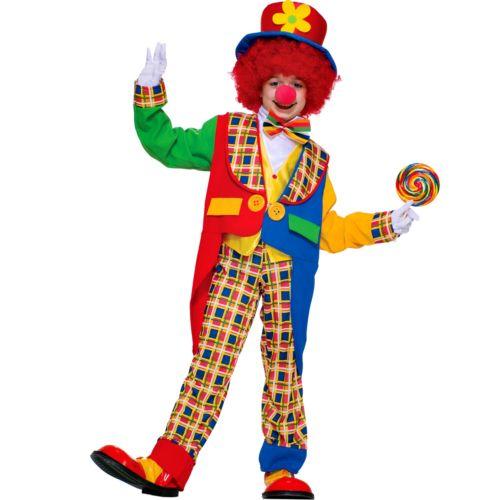 Clown Around Town Costume - Kids