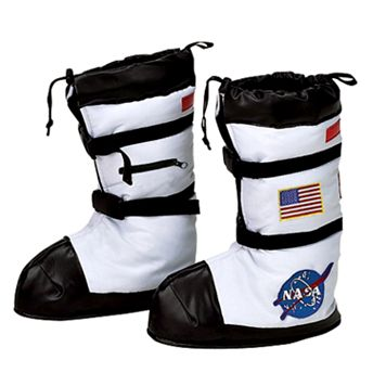 Astronaut Costume Boot Covers - Kids