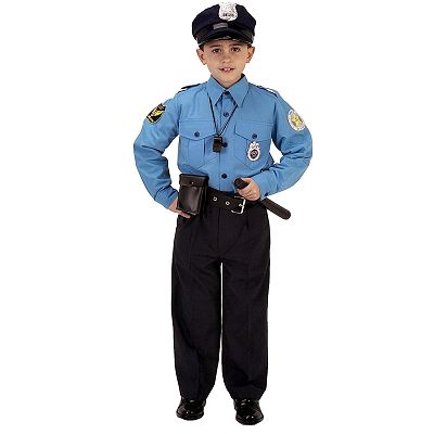 Jr. Police Officer Costume - Kids