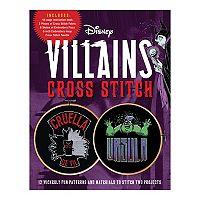 Disney Villains Cross Stitch: 12 Wickedly Fun Patterns & Kit Deals