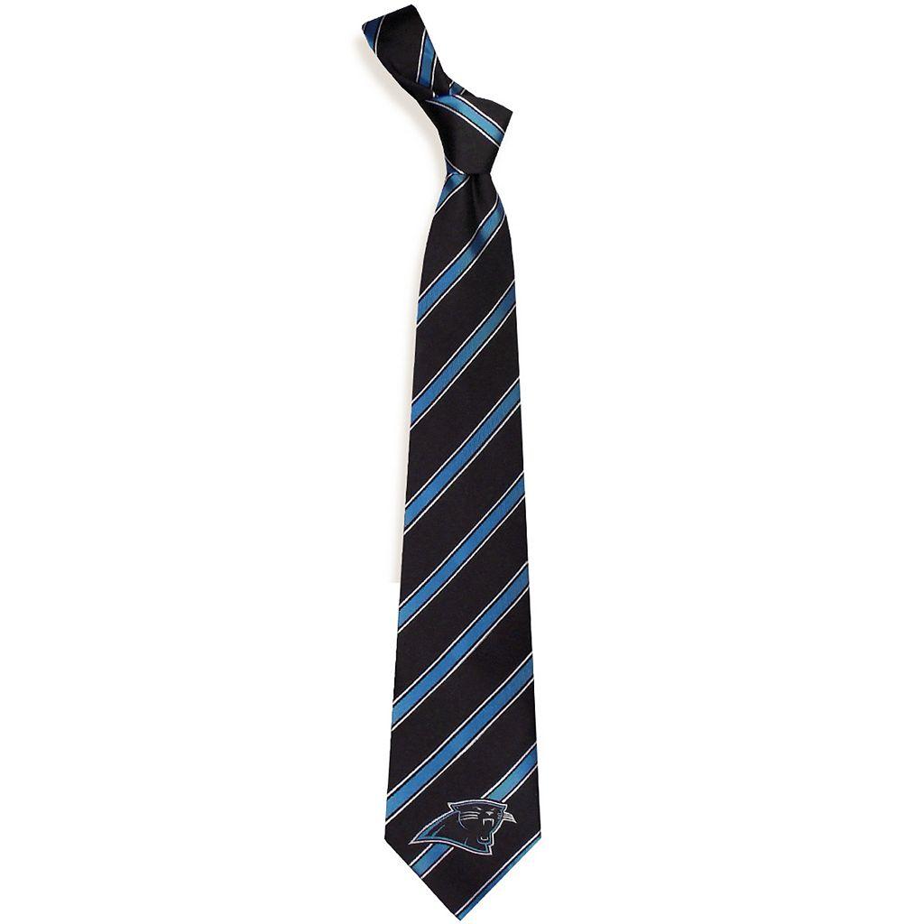 Carolina Panthers Striped Tie