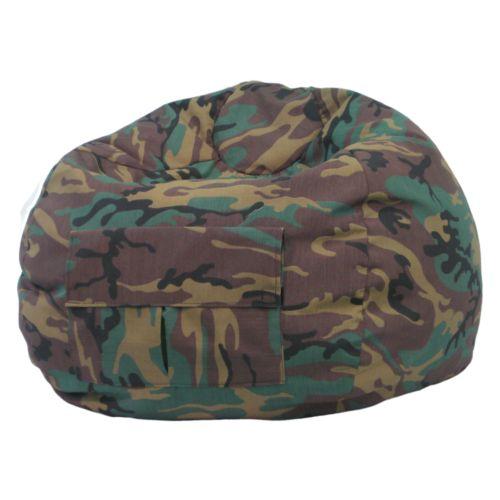 Teen Camouflage Beanbag Chair