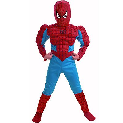 Spider-Man Muscle Costume - Kids