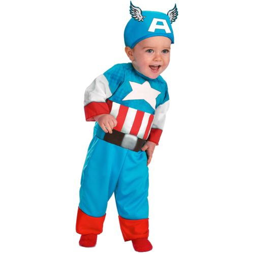 Captain America Costume - Baby