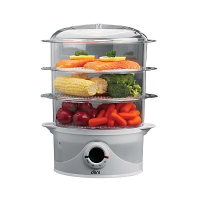 Deni Digital 3-Tier Food Steamer