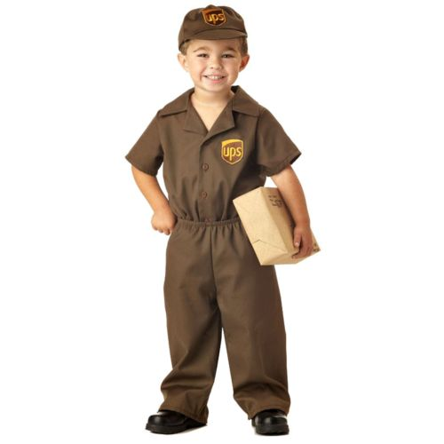The UPS Guy Costume - Toddler