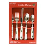 Nikko 20-pc. Happy Holidays Flatware Set