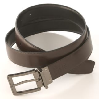 Men's Apt. 9® Stitched Reversible Faux-Leather Belt