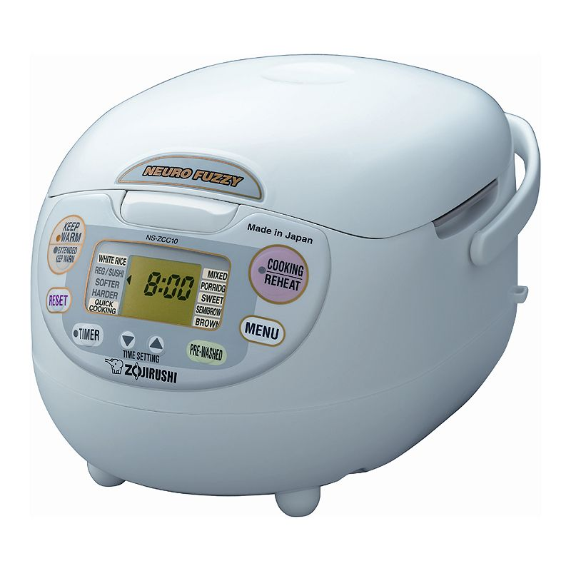 Zojirushi Neuro Fuzzy 5.5-Cup Rice Cooker, Multicolor