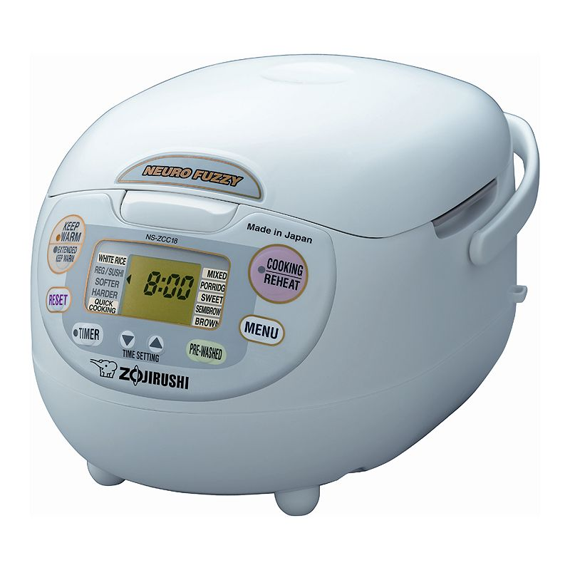 Zojirushi Neuro Fuzzy 10-Cup Rice Cooker, Multicolor