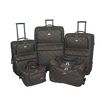 American Flyer Pemberly 5-Piece Luggage Set