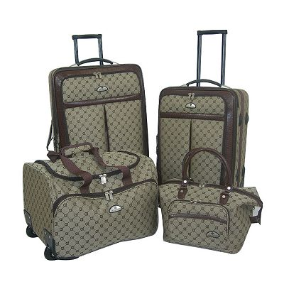 American Flyer AF Signature 4-pc. Luggage Set