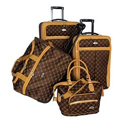 American Flyer AF Signature 4 pc Luggage Set