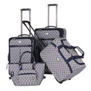 American Flyer AF Signature 4 pc Luggage Set