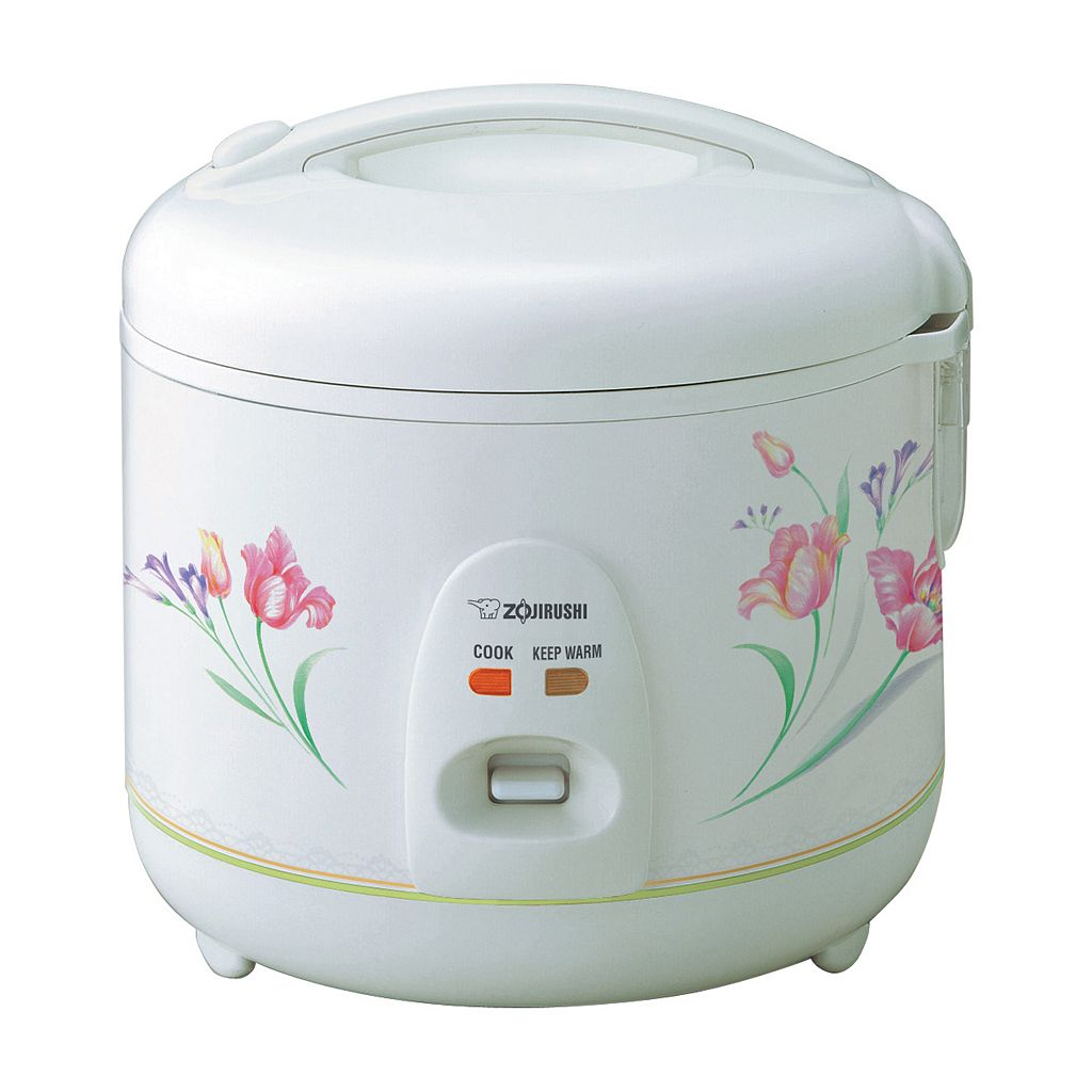 Zojirushi 5.5-Cup Floral Rice Cooker