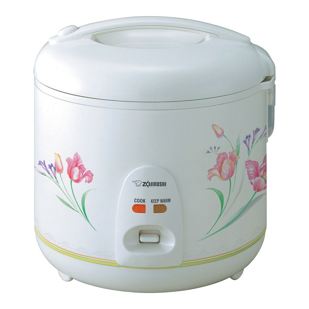 Zojirushi Floral 10-Cup Rice Cooker